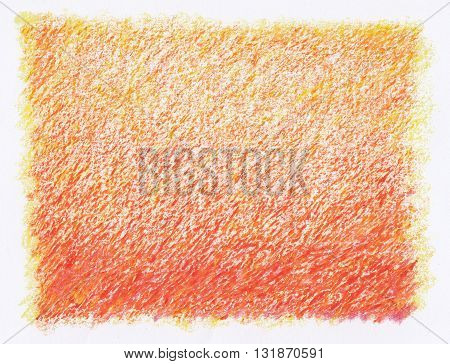 red shade abstract crayon rough textures artistic background