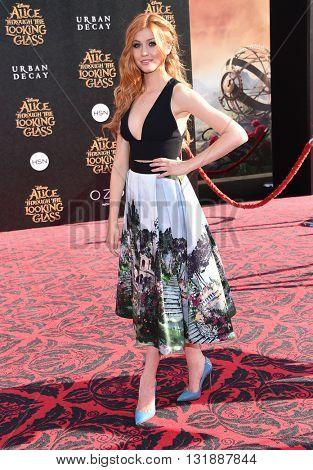 LOS ANGELES - MAY 23:  Katherine McNamara arrives to the