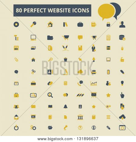 perfect website icons