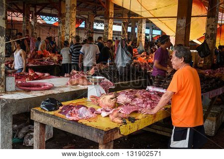 Tomohon Traditional Market