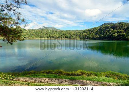 Linau Lake In Tomohon