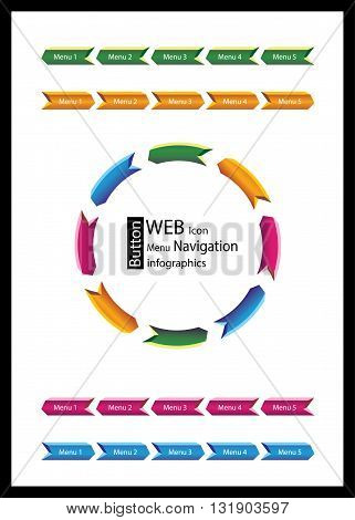 Business infographics, web, lower third, banners template