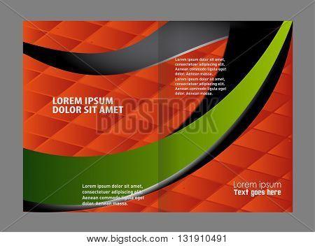 Brochure template design. Business brochure Flyer Template