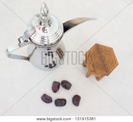 Arabian coffee ready for Ramadan
