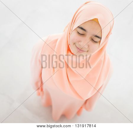 Beautiful Muslim Arabian girl