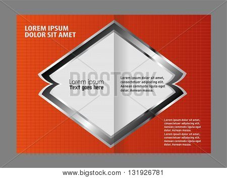 Bi-Fold Brochure Design. Professional business brochure design