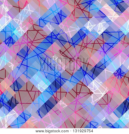 Seamless background pattern. Abstract strikes geometric pattern.
