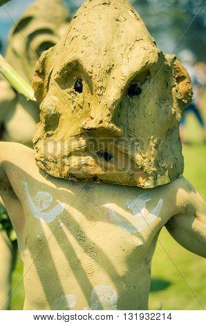 Mask In Papua New Guinea