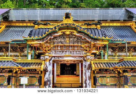 Tosho-gu, a Shinto shrine in Nikko, Japan