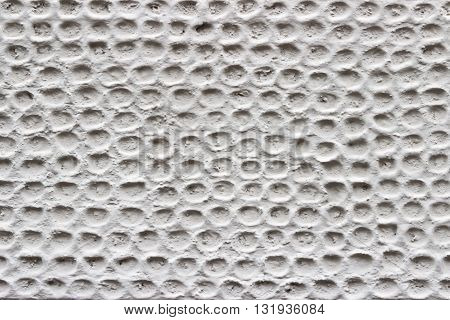 Stucco white wall background or texture .