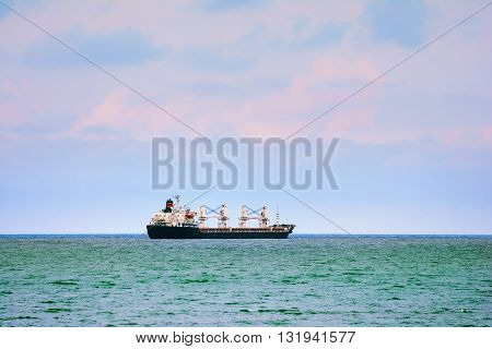 Ship Goes to the Open Black Sea