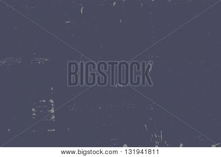 Distress Overlay Texture For Your Design. Empty grunge blue color design element. EPS10 vector.