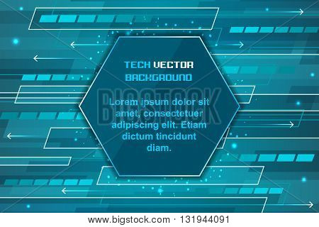 Technology Abstract Futuristic Background.