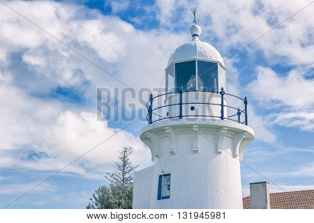 Ballina Lighthouse in New South Wales, Australia during the day.
