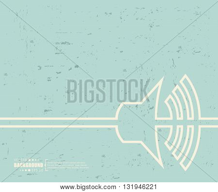Creative vector volume. Art illustration template background. For presentation, layout, brochure, logo, page, print, banner, poster, cover, booklet, business infographic, wallpaper, sign, flyer.