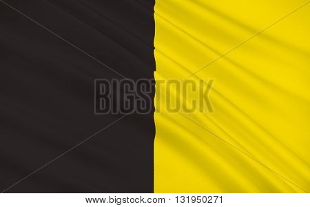 Flag of Sneek is a city southwest of Leeuwarden and seat of the former municipality of Sneek in the province of Friesland (Netherlands).