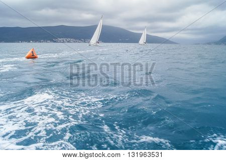 Two yachts suitable for a reversal. Regatta