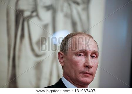 Russian President Vladimir Putin In Athens