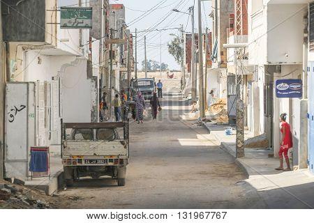 Street In Kairouan