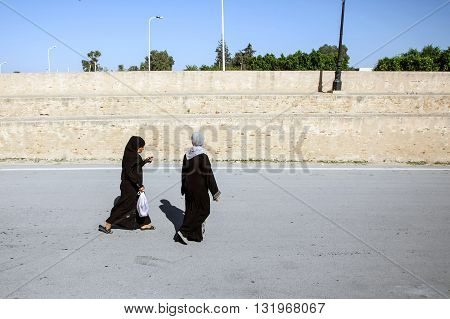 Muslim Women In Kairouan