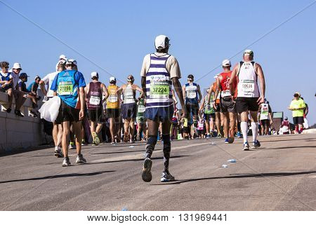 Sectators And Runners At Comrades Marathon In Durban 8