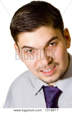 Dissatisfied Businessman