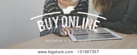 Buy Online Browsing Shopping Purchase Concept