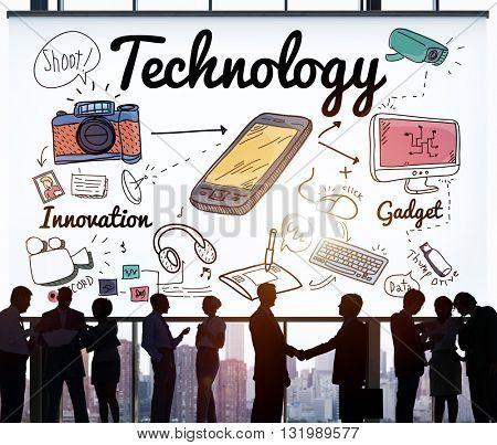 Technology Digital Innovation Internet Science Concept