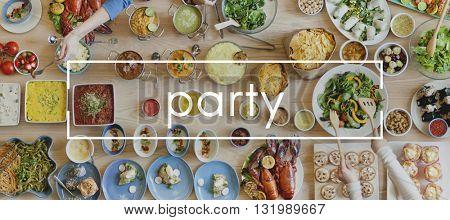 Party Anniversary Celebrate Entertainment Festival Concept