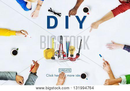 Do it yourself Handmade Handcraft Original Concept