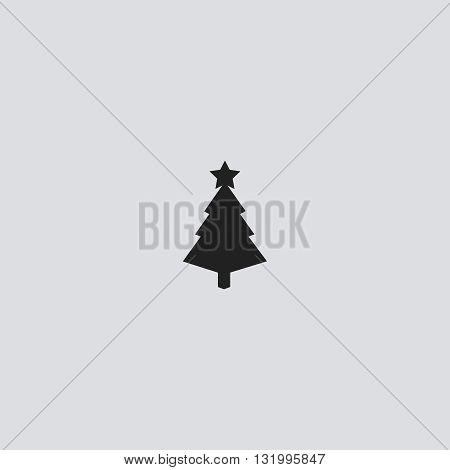 Tree icon vector. Tree logo. Tree sign.  Tree icon web - stock vector.
