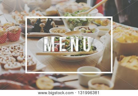 Quality Food Meal Dining Restaurant Concept