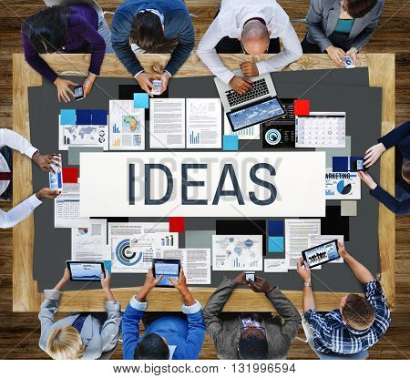 Fresh Ideas Objective Proposal Strategy Action Concept
