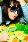 Постер, плакат: Портрет стиле профессиональной модели Тема: красота Мода