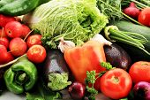 pic of fruits vegetables  - Fresh Vegetables - JPG