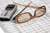 Eyeglasses & Mobile