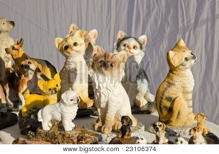 Handmade Cats And Dogs.