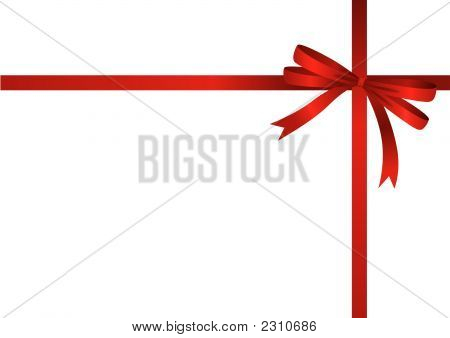 Red Ribbon (Vector Or Xxl Jpeg Image)