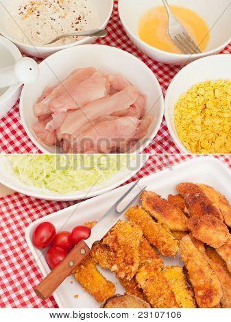 Fried Chicken Strips