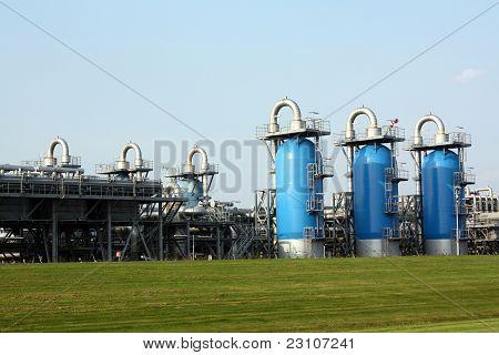 Almacenamiento de gas