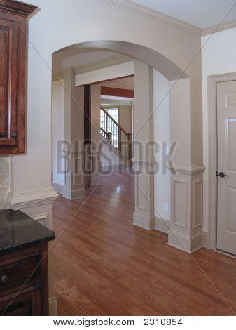 Arched Hallway 1