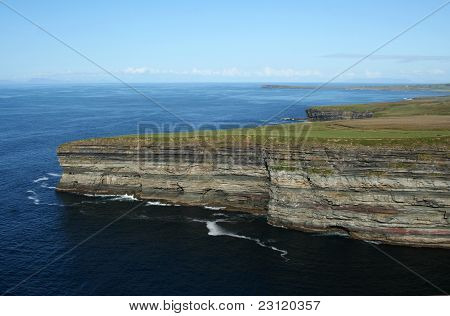 Cliffs Across from Ceide Fields