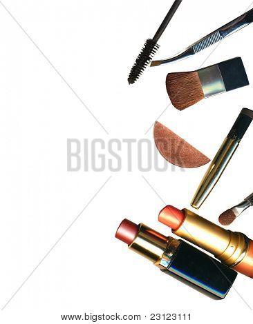 cosméticos y maquillaje cepillo