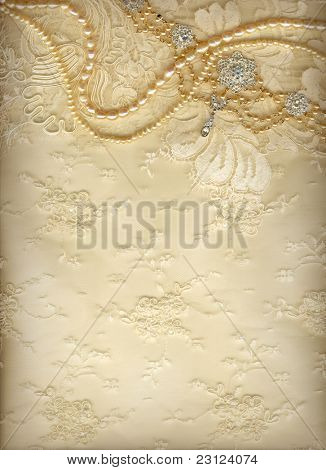 Luxury wedding background with plenty of copy space