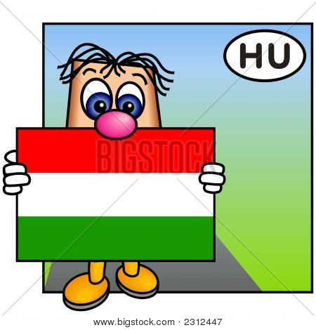'Paley' Showing The Flag Of Hungary