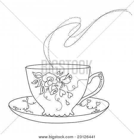 Cute vintage cup