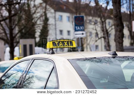 Taxi German Taxi At The