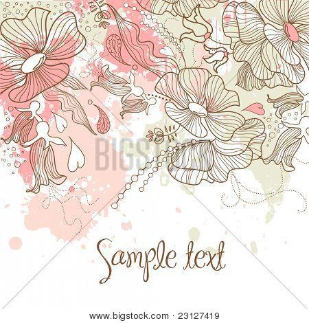 Schöne Blumen Hintergrund