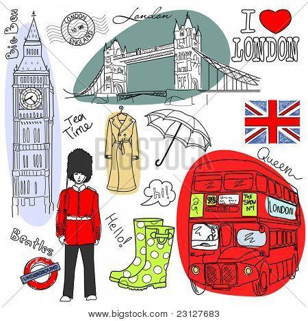 Garabatos de Londres