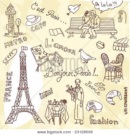 Paris doodles